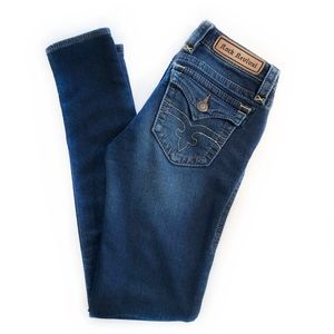 "ROCK REVIVAL | ""Jessica"" Skinny Flap Jeans"
